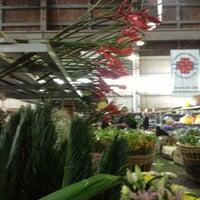 Photo taken at Mercado de Flores de Buenos Aires by Nat on 10/9/2013