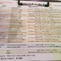 3/28/2018 tarihinde honnyasukixiziyaretçi tarafından PUMP craft beer bar'de çekilen fotoğraf