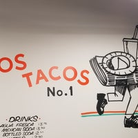 Photo taken at Los Tacos No. 1 by Rob J. on 11/8/2017