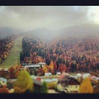 Photo taken at Pârtia Sorica by Alex R. on 10/25/2012
