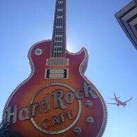 Photo taken at Hard Rock Cafe Las Vegas at Hard Rock Hotel by Sergio R. on 11/6/2012