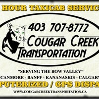 Photo taken at Cougar Creek Taxi by Cougar Creek Taxi on 5/15/2014