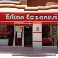 Photo taken at Erkan Eczanesi by Emin E. on 8/21/2013