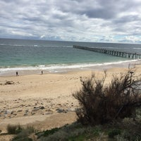 Photo taken at Port Noarlunga Beach by Kelly L. on 7/10/2017