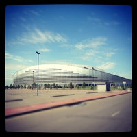 Photo taken at Astana Arena by Marx on 12/26/2012