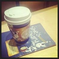 Photo taken at EDIYA COFFEE by Christie H. on 12/24/2012