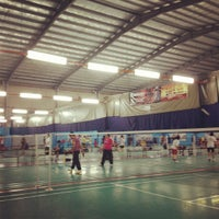 Photo taken at New Vision Badminton Academy by Mohd U. on 9/19/2012