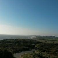 Photo taken at Hengistbury Head by Kc on 2/13/2017