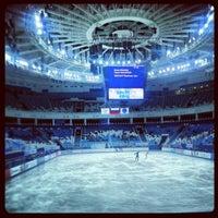 Photo taken at Iceberg Skating Palace by Natashka N. on 12/25/2012