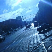 "Photo taken at Остановка ""Улица Генерала Панфилова"" by Lizzy C. on 9/16/2012"