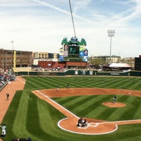 Photo taken at Fifth Third Field by Deanna on 4/21/2013