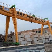 Photo taken at ART MADENCİLİK by Muammer K. on 3/6/2014