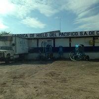 Photo taken at Fabrica De Hielo Del Pacifico by Vanessa R. on 8/22/2013