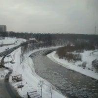 Photo taken at Eikos Verslo Trikampis by Gretuxe on 12/21/2012