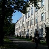 Photo taken at Vilniaus universiteto Gamtos mokslų fakultetas by Gretuxe on 9/26/2012