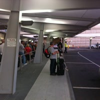 Photo taken at Adelaide Airport Taxi Queue by Nigel M. on 4/5/2013