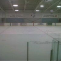 Photo taken at Ed Sackfield Arena & Fitness Studio by Carlie D. on 2/15/2013