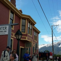 Photo taken at Skagway Visitor Information Center by Lena C. on 5/21/2014