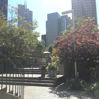 Photo taken at Two Embarcadero Center by Lena C. on 8/1/2017