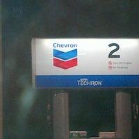 Photo taken at Chevron by Amber E. on 10/13/2012