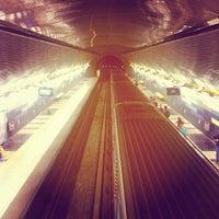 Photo taken at Metro Hernando de Magallanes by Cristobal R. on 4/24/2013