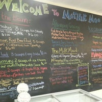 Photo taken at Mother Moo Creamery by Marcus on 3/2/2013