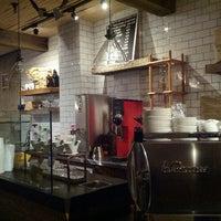 Photo taken at Nolita Mart & Espresso Bar by Amanda on 10/29/2012
