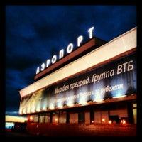 Снимок сделан в Международный аэропорт Пулково (LED) пользователем Сергей В. 10/21/2013