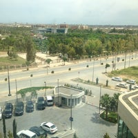 Photo taken at Erbil Rotana Hotel by Hawkar H. on 4/21/2013