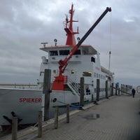Photo taken at Spiekeroog Hafen by Hannes M. on 12/31/2012