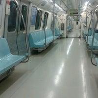 Photo taken at Levent Metro İstasyonu by Kenan B. on 12/14/2012