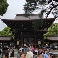 Foto tirada no(a) Honden (Main Shrine) por Takahiro em 5/3/2018