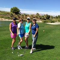 Photo taken at Rhodes Ranch Golf Club by Debbie on 10/9/2013