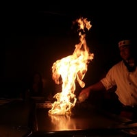 Photo taken at Kyoto Japanese Steakhouse by Louise D. on 9/27/2012