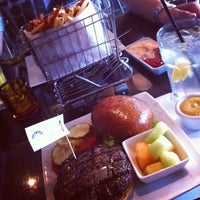 Photo taken at Delux Burger by Margaret on 9/19/2012