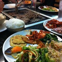 Photo taken at Woo Che Asian Grill by Margaret on 9/23/2012