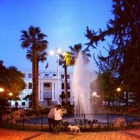 Foto tomada en Plaza Ñuñoa por Pablo V. el 10/18/2012