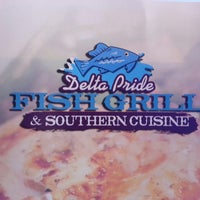 Photo taken at Delta Pride Fish Grill & Southern Cuisine by Fred S. on 6/15/2013