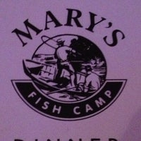 Photo taken at Mary's Fish Camp by Lisa G. on 3/9/2013