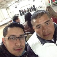 Photo taken at centro social victoria by Erick R. on 2/14/2015