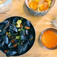 Photo taken at Restaurant Galdur -Hólmavík by Sigurður A. on 10/14/2012