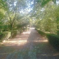 Photo taken at Parque de las Albercas by Daniel M. on 9/15/2012