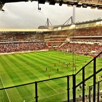 Photo taken at Philips Stadium by Philippe on 7/31/2013