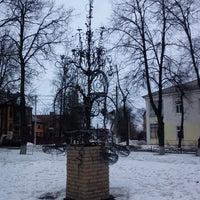 Photo taken at Памятник Корзине by Денис Д. on 4/7/2013