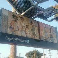 Foto diambil di Expo / Western Metro Station oleh Mark W. pada 7/30/2016