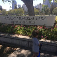 Photo taken at Roxbury Memorial Park by Mark W. on 6/16/2016