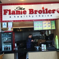 Photo taken at The Flame Broiler by Mark W. on 1/18/2016