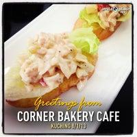 Photo taken at corner bakery cafe by Ivy C. on 1/8/2013