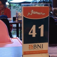 Photo taken at Jejamuran Resto by Anglila S. on 7/21/2013