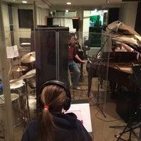 Photo taken at Brooklyn Music Factory Warren St. Studio by Benjamin H. on 4/6/2014